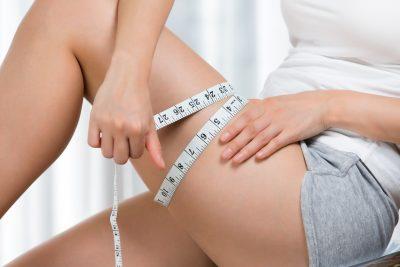 太もも痩せに成功した女性