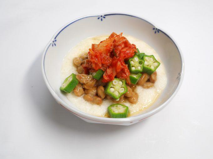 納豆キムチの食べ方