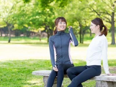 会話を楽しみながらジョギング