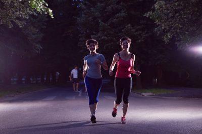 夜のランニング(有酸素運動)