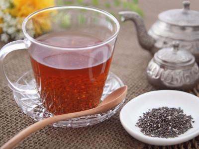 チアシードドリンク(紅茶)