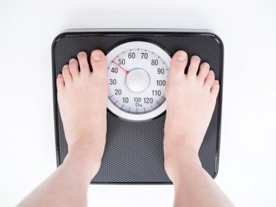 体重を測る
