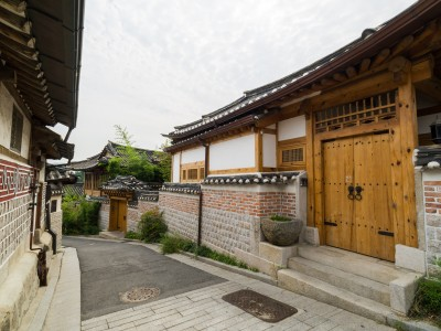 韓国、北韓屋村