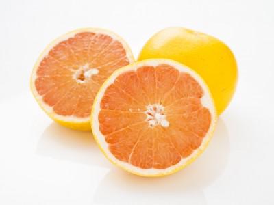 グレープフルーツの断面