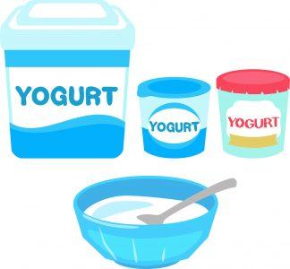 様々な種類のヨーグルト