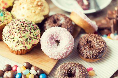 糖分が多いもの:ドーナッツ