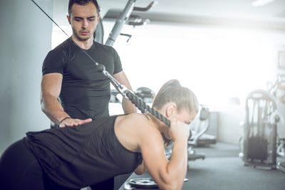 トレーナーのトレーニングサポート