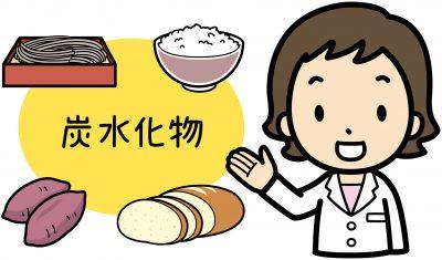 炭水化物の食品