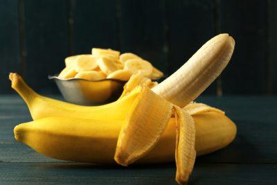 美味しそうなバナナ バナナスライス