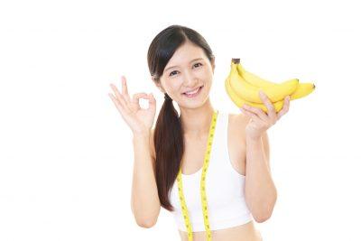 朝バナナダイエットに成功した女性