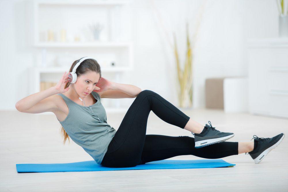 くびれ 腹斜筋トレーニング