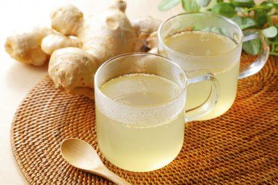 身体温まる生姜茶