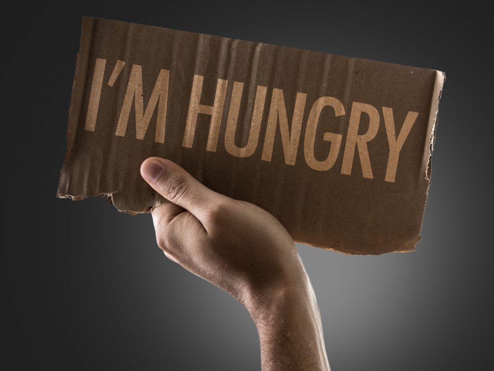 I'm Hungry(私は空腹)