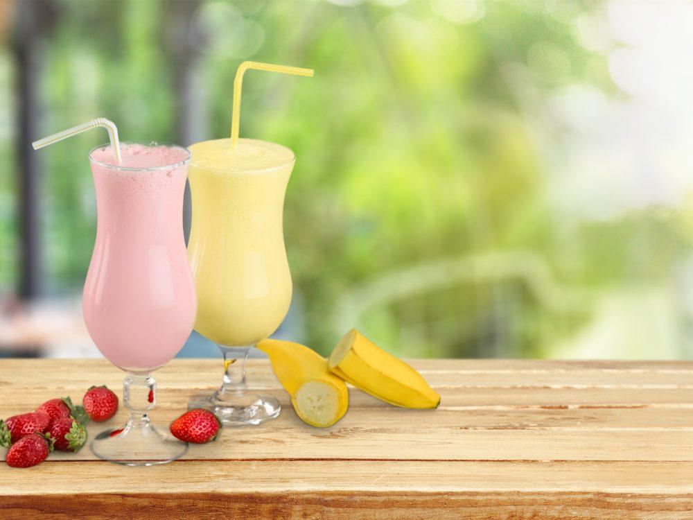 DHCプロティンダイエット いちごとバナナ イメージ