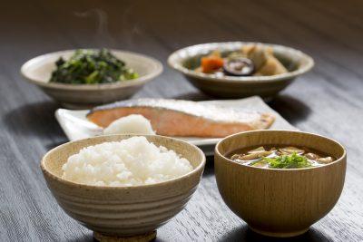 バランスの良い食事(和食)