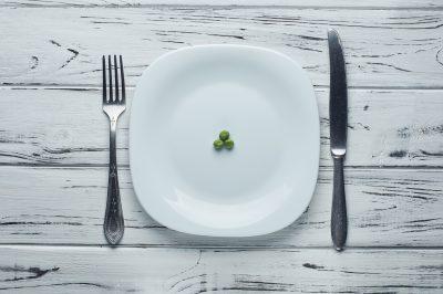 断食を連想させる画像