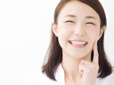 美肌効果を実感する女性
