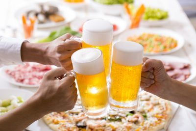 高脂質な食とビール