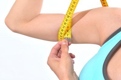 二の腕ダイエットのイメージ