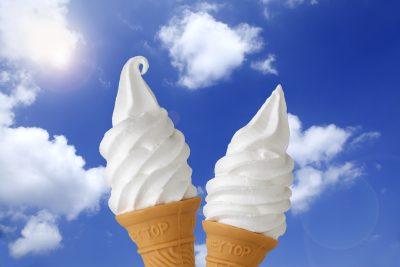 コーンのソフトクリーム