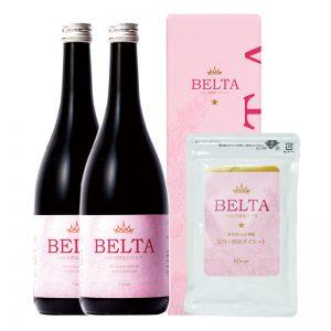ベルタ酵素ドリンク2本とサプリ