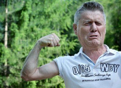 年をとって衰えた筋肉