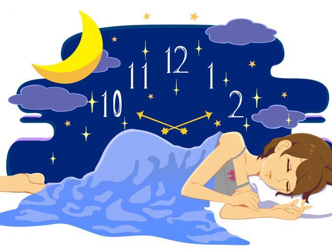 成長ホルモンが分泌される質の良い睡眠
