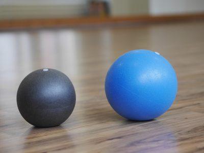 ミニサイズのバランスボール