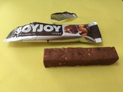 ソイジョイのアーモンド&チョコレートを開けた中身