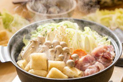 野菜たっぷり低カロリーの鍋