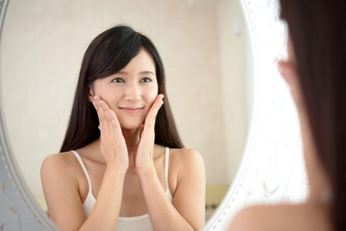 顔痩せ体操で小顔効果を実感したイメージ