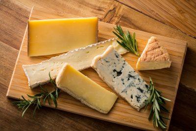 色々な種類のチーズ