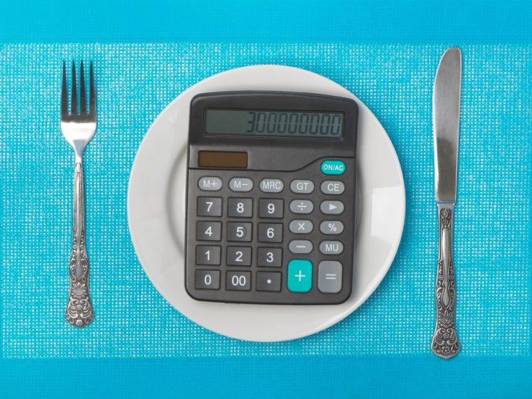 計算した食事系ダイエットのイメージ
