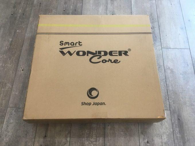 ワンダーコアスマート 実物の箱