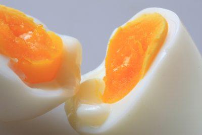 美味しそうなゆで卵
