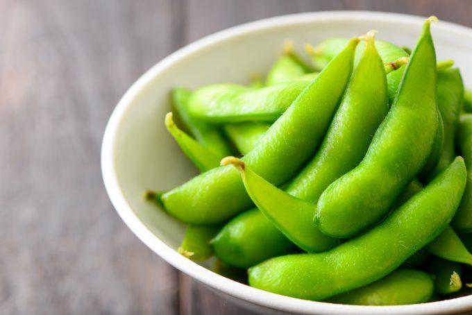 おつまみの枝豆 カリウムが豊富な食材