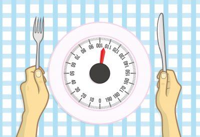 カロリー制限ダイエットのイメージ
