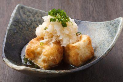 揚げ出し豆腐 おかずとして豆腐を調理