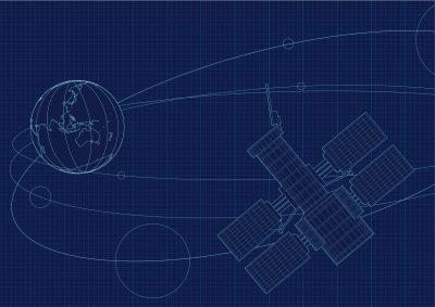 Space satellite NASAのイメージ