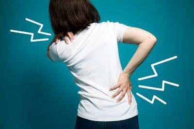 骨盤のズレで痛みを感じる女性