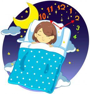 睡眠と時間
