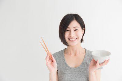 お米が好きな女性
