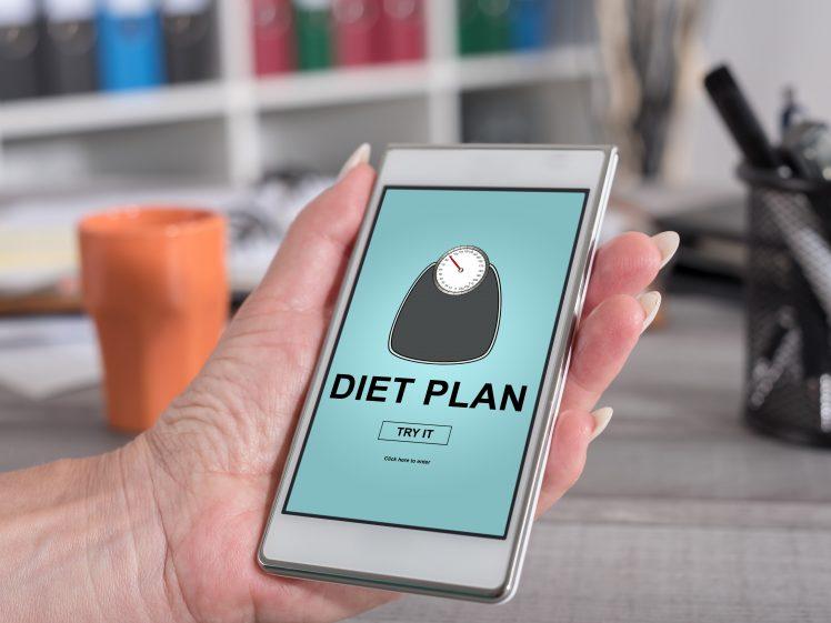 ダイエットプランを提示してくれるスマホアプリ