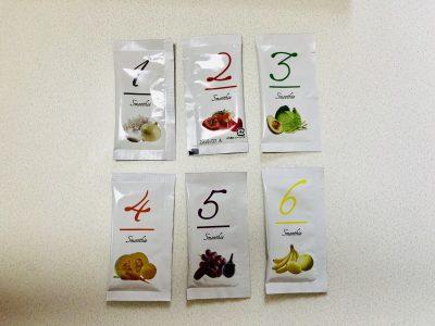 セブンデイズカラースムージー6種類の味